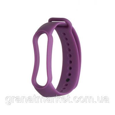 Ремешок для Xiaomi Mi Band 5 Original Design Цвет Фиолетовый