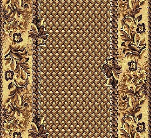 Дорожка ковровая Gold runner (316/12)  ширина  0.80 м, фото 2