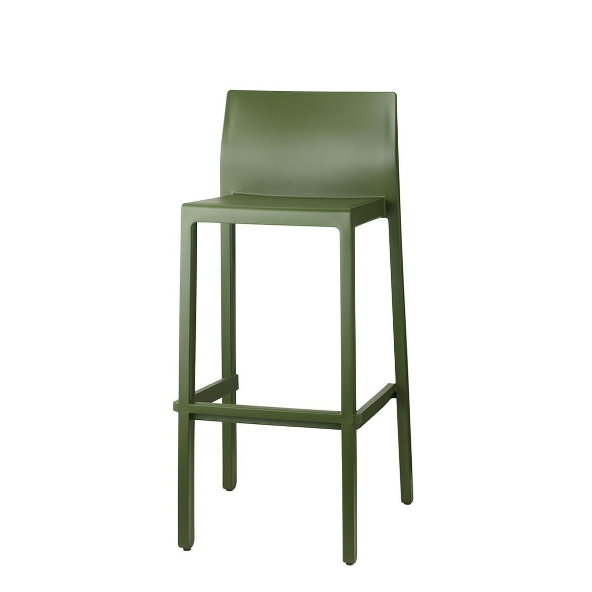 Барний стілець Kate SCAB h75/65 см verde olive