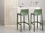 Барний стілець Kate SCAB h75/65 см verde olive, фото 5