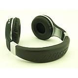Беспроводные Наушники с MP3 плеером 471 BT Радио с LED Дисплеем чёрные, фото 3