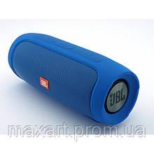 Портативная bluetooth колонка спикер JBL Charge 4 FM, MP3, радио Синяя
