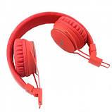Беспроводные Bluetooth Наушники с MP3 плеером NIA-X2 Радио блютуз Красные, фото 4
