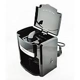Капельная кофеварка DOMOTEC MS-0708 на 2 чашки кофе машина, фото 5