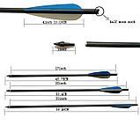 Стрелы карбоновые арбалетные 20 дюймов, фото 8