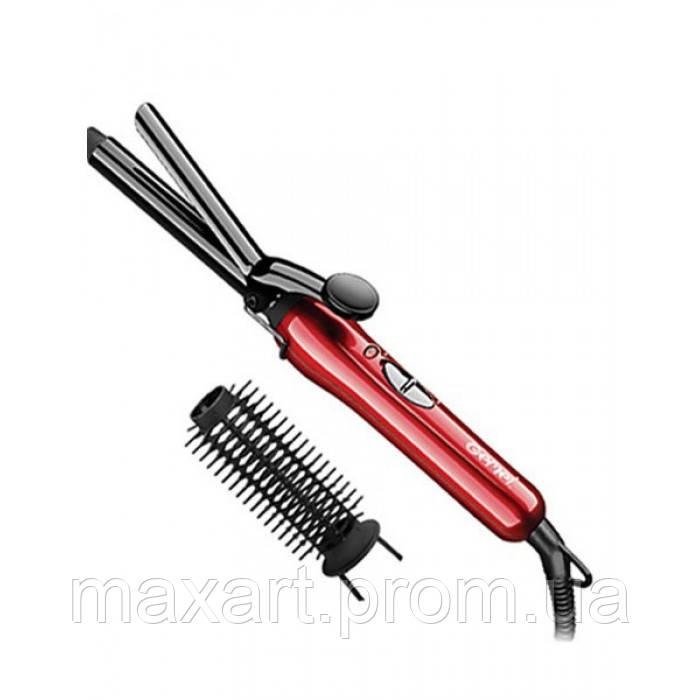 Плойка для Волос GEMEI GM-2906 щипцы + насадка-щетка для волос