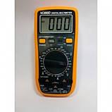 Цифровой Профессиональный мультиметр VC890D тестер вольтметр, фото 2