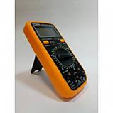 Цифровой Профессиональный мультиметр VC890D тестер вольтметр, фото 3