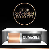 Щелочные батарейки Duracell AAA (LR03) MN1500 1 шт, фото 5