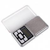 Карманные ювелирные электронные весы до 200 грамм, фото 3