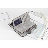 Женский кошелек клатч портмоне Baellerry Forever N2345 серый, фото 2