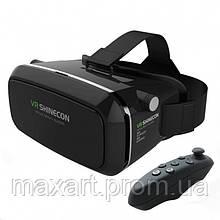 3D очки виртуальной реальности VR SHINECON c пультом