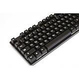 Клавиатура с цветной подсветкой USB UKC HK-6300 для ПК, фото 2