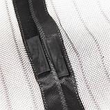 Анти москитная сетка штора на магнитах Magic Mesh 100*210 см Чёрная, фото 5