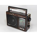 Радиоприемник-колонка MP3 GOLON RX 9966UAR Коричневый, фото 2