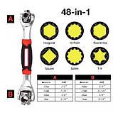 Универсальный торцевой ключ 48 в 1 Universal Wrench, фото 7