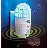 Лампа приманка для насекомых (уничтожитель насекомых) и отпугиватель грызунов Atomic Zabber, фото 2