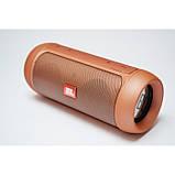 Портативная bluetooth колонка спикер JBL Charge 2 FM, MP3, радио Золотая, фото 5