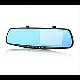 Зеркало регистратор DVR L900 Full HD с выносной камерой заднего вида, фото 2