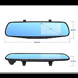 Зеркало регистратор DVR L900 Full HD с выносной камерой заднего вида, фото 4