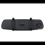 Зеркало регистратор DVR L900 Full HD с выносной камерой заднего вида, фото 5