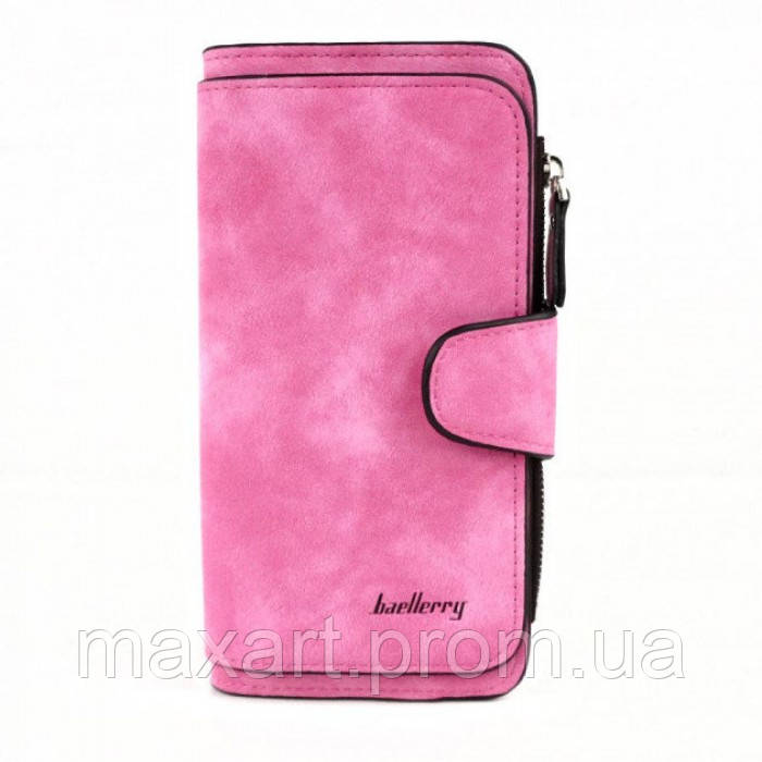 Женский кошелек клатч портмоне Baellerry Forever N2345 розовый
