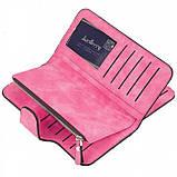 Женский кошелек клатч портмоне Baellerry Forever N2345 розовый, фото 3