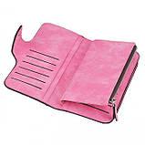 Женский кошелек клатч портмоне Baellerry Forever N2345 розовый, фото 4