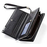 Мужской кошелек клатч портмоне барсетка Baellerry business SW002, фото 3