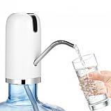 Электрическая аккумуляторная помпа для воды Charging Pump C60 Белая, фото 4