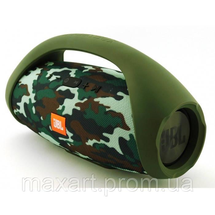 Портативная bluetooth колонка JBL Boombox BIG FM MP3 Камуфляж