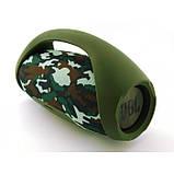 Портативная bluetooth колонка JBL Boombox BIG FM MP3 Камуфляж, фото 3