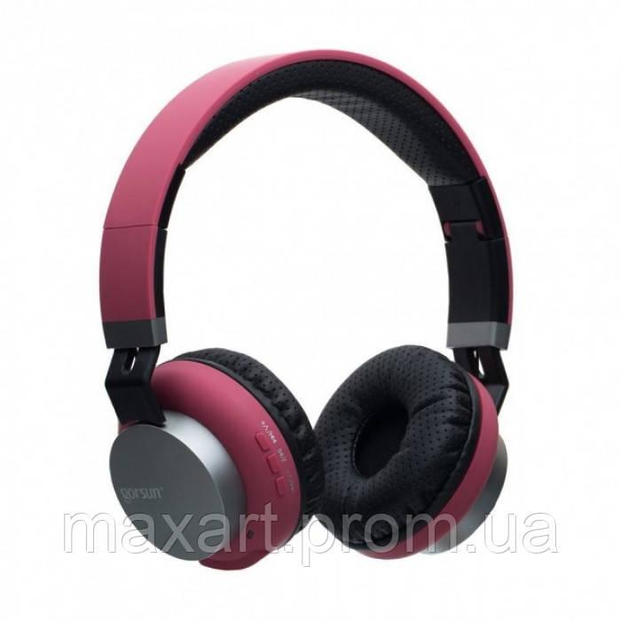 Беспроводные Bluetooth Стерео наушники Gorsun GS-E89 Красные