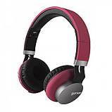 Беспроводные Bluetooth Стерео наушники Gorsun GS-E89 Красные, фото 2