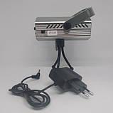 Лазерный проектор, стробоскоп, диско лазер UKC HJ08 4 в 1 c триногой Серый 4053, фото 6