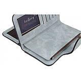 Женский кошелек клатч портмоне Baellerry Forever N2345 голубой, фото 3