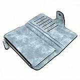 Женский кошелек клатч портмоне Baellerry Forever N2345 голубой, фото 4