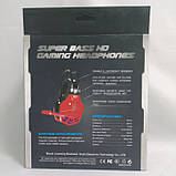 Игровые проводные наушники SOYTO SY850MV с микрофоном Чёрные с Синим, фото 5