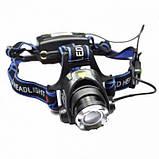 Налобный фонарь Police BL-6699-T6 Фонарик 1200 Lumen, фото 4