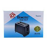 Тостер Domotec MS-3230 650w, фото 3