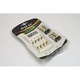 4 шт аккумуляторы + зарядное устройство Jiabao JB-212 AA, фото 2