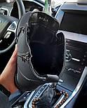 Ботинки мужские зимние с мехом Тимбо| ботинки теплые черные. Живое фото, фото 2