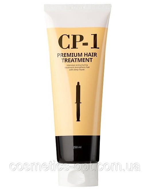 Протеиновая маска для лечения и разглаживания волос Esthetic House CP-1 Premium Hair Treatment, 250 ml
