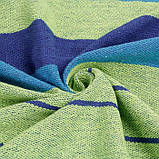 Мексиканский гамак хлопок UKC 240x80 см + чехол Синий, фото 5