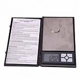 Ювелирные электронные весы 0,01-500 гр 1108-5 notebook, фото 2