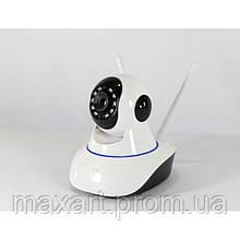 Беспроводная поворотная IP камера видеонаблюдения WiFi microSD 6030