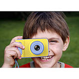Детский цифровой фотоаппарат Smart Kids Camera V7 Синий, фото 5