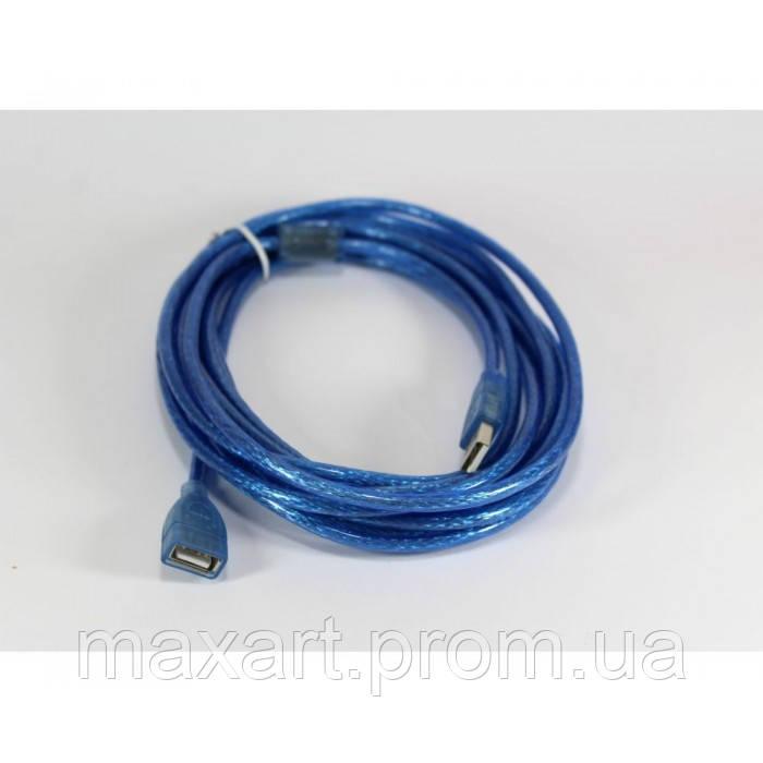 Кабель удлинитель, шнур USB - OTG USB 5 м