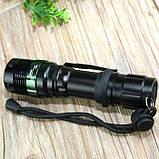 Тактический фонарь POLICE BL 8455 Q5 50000W фонарик 500 Lumen, фото 4