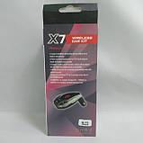 Автомобильный FM трансмиттер модулятор X7 Bluetooth MP3 Чёрный, фото 2